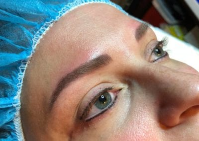 Ivan after microblading